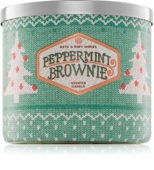 Bath & Body Works Peppermint Brownie lumânare parfumată