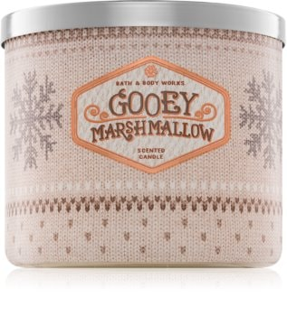 Bath & Body Works Gooey Marshmallow vonná svíčka