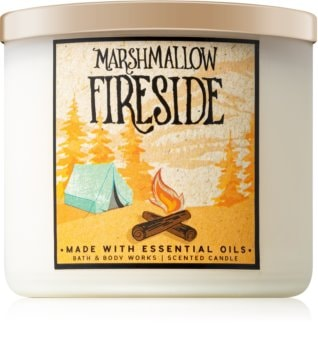 Bath & Body Works Marshmallow Fireside duftkerze  II.