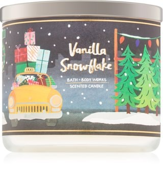 Bath & Body Works Vanilla Snowflake duftkerze