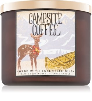Bath & Body Works Campsite Coffee duftkerze
