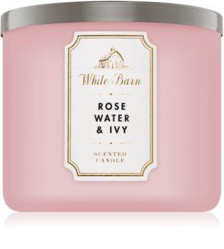 Bath & Body Works Rose Water & Ivy vonná svíčka I.