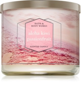 Bath & Body Works Aloha Kiwi Passionfruit duftkerze