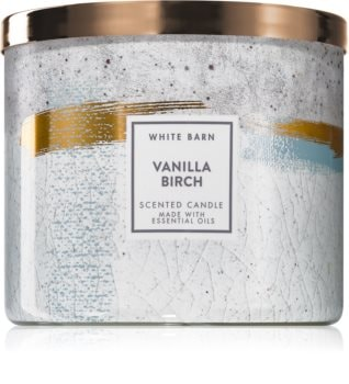 Bath & Body Works Vanilla Birch vonná sviečka