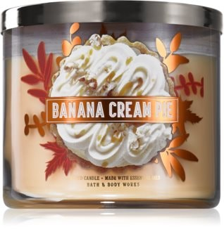 Bath & Body Works Banana Cream Pie duftkerze