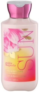 Bath & Body Works Golden Magnolia Sun telové mlieko pre ženy 236 ml