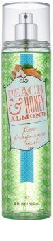 Bath & Body Works Peach & Honey Almond telový sprej pre ženy