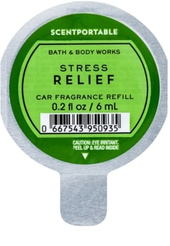 Bath & Body Works Stress Relief autoduft Ersatzfüllung