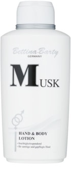 Bettina Barty Classic Musk telové mlieko pre ženy