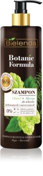 Bielenda Botanic Formula Hops + Horsetail šampon pro poškozené a barvené vlasy
