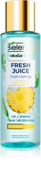 Bielenda Fresh Juice Pineapple fluido viso illuminante e idratante