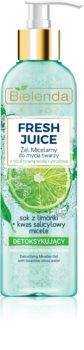 Bielenda Fresh Juice Lime čisticí micelární gel