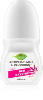 Bione Cosmetics Cannabis antiperspirant roll-on s vôňou ruží