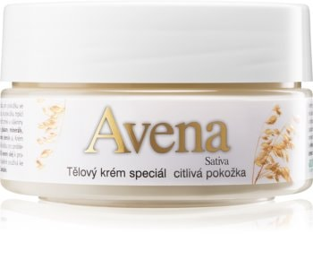 Bione Cosmetics Avena Sativa Körpercreme für empfindliche Oberhaut