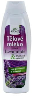 Bione Cosmetics Lavender nährende Body lotion