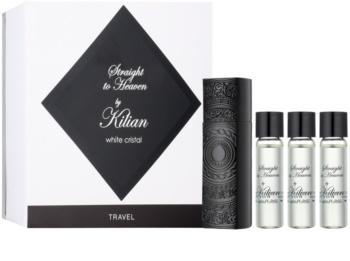By Kilian Straight To Heaven, white cristal Eau de Parfum (1x nachfüllbar + 3x nachfüllung) für Herren