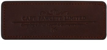 Captain Fawcett Accessories cofanetto in pelle per pettine