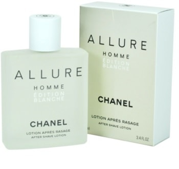 Chanel Allure Homme Édition Blanche voda po holení pre mužov