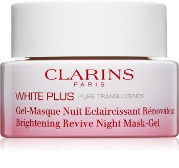 Clarins White Plus maschera notte illuminante