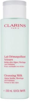 Clarins Cleansers latte detergente con estratto di erbe alpine per pelli normali e secche