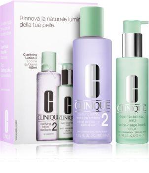Clinique 3 Steps kosmetická sada II. (pro suchou a smíšenou pleť) pro ženy