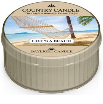 Country Candle Life's a Beach čajová sviečka