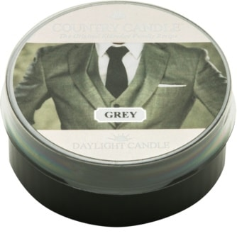 Country Candle Grey čajová sviečka