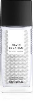 David Beckham Homme deodorant s rozprašovačom pre mužov