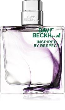 David Beckham Inspired By Respect Eau de Toilette für Herren