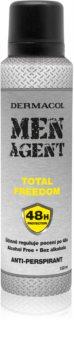 Dermacol Men Agent Total Freedom antiperspirant ve spreji