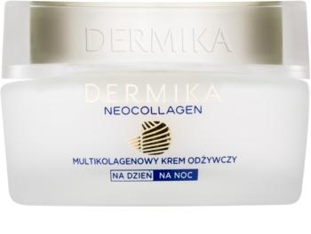 Dermika Neocollagen crema nutriente per ridurre le rughe e la pelle avvizzita 70+