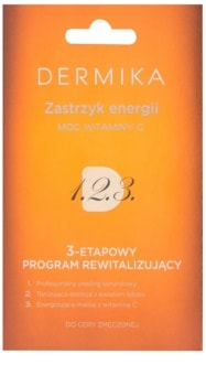 Dermika 1. 2. 3. trattamento rivitalizzante trifasico per pelli stanche