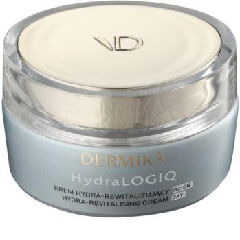 Dermika HydraLOGIQ crema giorno rivitalizzante per pelli normali e secche