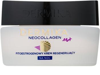 Dermika Neocollagen M+ crema rigenerante notte con fitoestrogeni