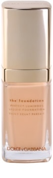Dolce & Gabbana The Foundation Perfect Luminous Liquid Foundation rozjasňujúci tekutý make-up