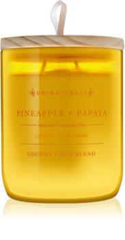 DW Home Pineapple + Papaya vonná svíčka