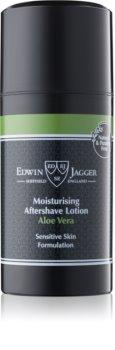 Edwin Jagger Aloe Vera balsamo post-rasatura per pelli sensibili