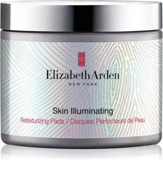 Elizabeth Arden Skin Illuminating Retexturizing Pads exfoliační polštářky pro obnovu povrchu pleti