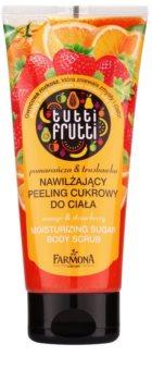 Farmona Tutti Frutti Orange & Strawberry hydratačný cukrový peeling na telo