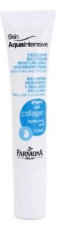 Farmona Skin Aqua Intensive trattamento idratante e illuminante per palpebre e occhiaie