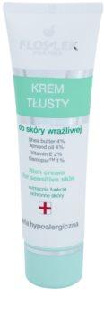 FlosLek Pharma Hypoallergic Line vysoce výživný noční krém pro citlivou a podrážděnou pleť