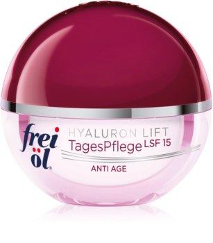 frei öl Anti Age Hyaluron Lift denný spevňujúci a protivráskový krém SPF 15
