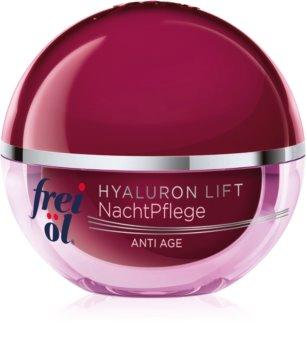 frei öl Anti Age Hyaluron Lift crema notte rigenerante rassodante antirughe
