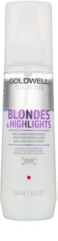 Goldwell Dualsenses Blondes & Highlights siero spray senza risciacquo per capelli biondi e con mèches