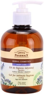 Green Pharmacy Body Care Sage & Allantoin gel lenitivo per l'igiene intima