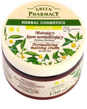Green Pharmacy Face Care Green Tea crema opacizzante per pelli grasse e miste