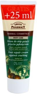 Green Pharmacy Foot Care obnovujúci krém na popraskané chodidlá