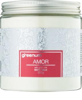 Greenum Amor mlieko do kúpeľa v prášku