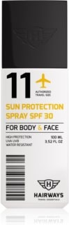 Hairways Travel Essentials napozó spray SPF 30