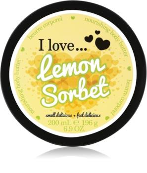 I love... Lemon Sorbet tělové máslo